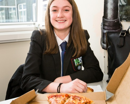 Competition Winners' Pizza Lunch