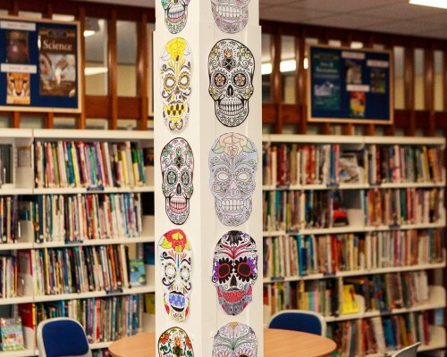 Day of the Dead Masks - Library