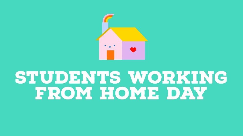 Students Working from Home on Wednesday 19 May 2021