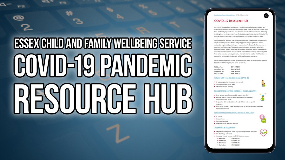 New COVID-19 Resource Hub for Families